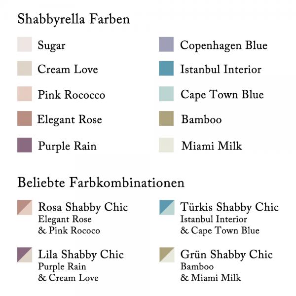 Farben und beliebte Farbkombinationen